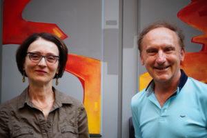 Béatrice Combar-Lange, présidente et Yves Pignard, directeur artistique